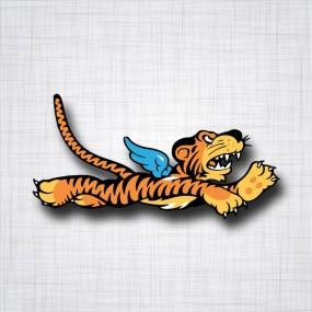 Flying Tiger (Tigre volant) droit