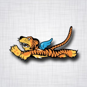 Flying Tiger (Tigre volant) gauche