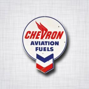 Sticker Chevron Aviation Fuels