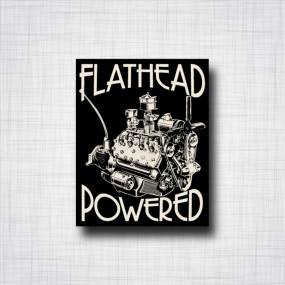 Sticker Flathead Powered