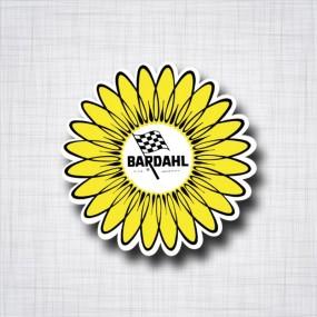 Sticker BARDAHL Fleur
