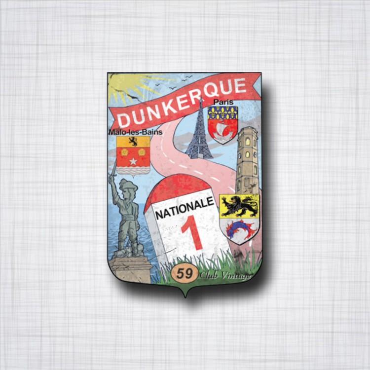 National 1, Dunkerque usé