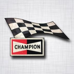 Sticker CHAMPION Drapeau
