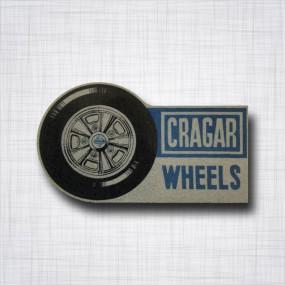 Cragar Wheels pailleté
