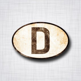 D for Deutschland rouillé