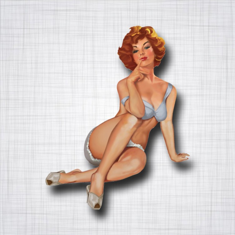 Pin-up Rousse