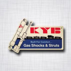 Sticker KYB Gas Shocks