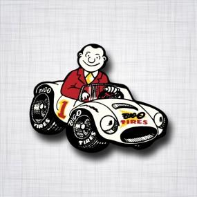 Sticker Big O Tires