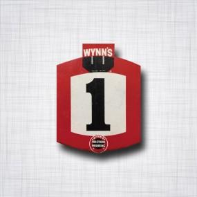 Sticker Wynn's numéro 1