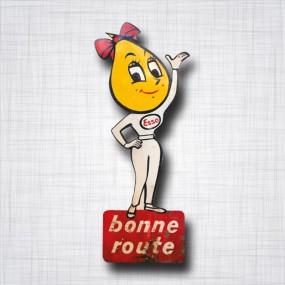 Sticker ESSO Goutte d'huile Bonne Route