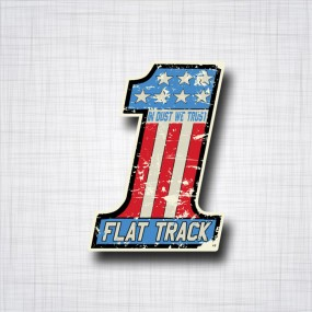 Numéro 1 Flat Track USA