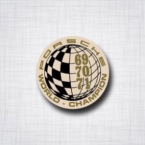 Porsche World champion 69-70-71