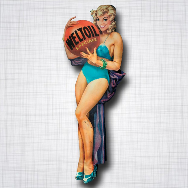 Pin-Up Weltoil Speciale