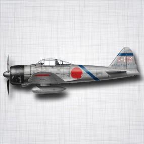 Avion Mitsubishi A6M Zero