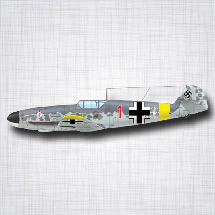 Sticker Avion Messerschmitt