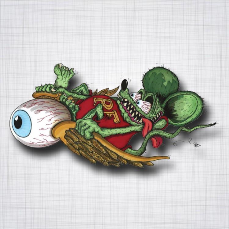 Rat Fink Eyeball
