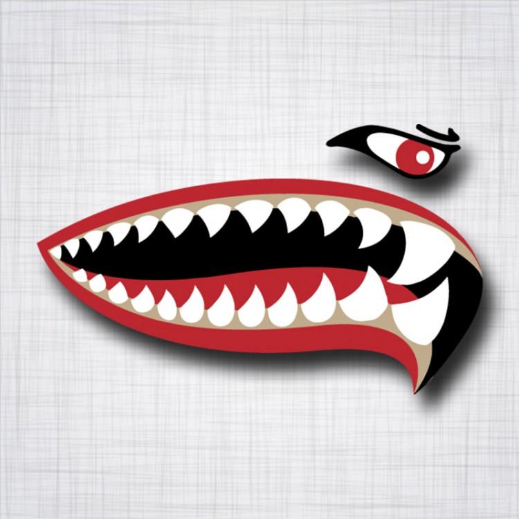 Dents de requin Droit