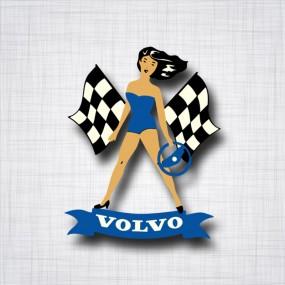 Volvo Pin-Up