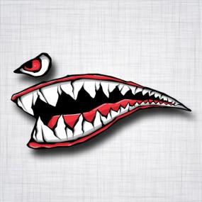 Dents de requin Gauche