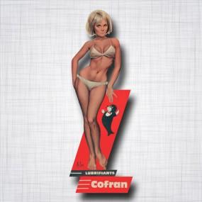 Pin-Up Cofran lubrifiants