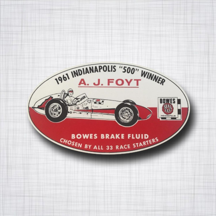 A. J. FOYT 1961 Indianapolis 500 winner