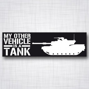 My Other Vehicle is a Tank