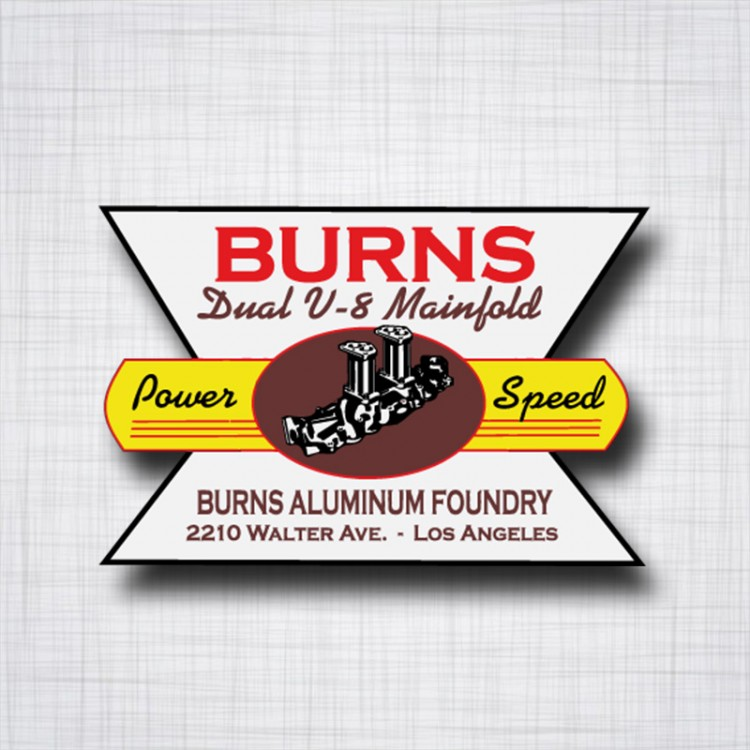 Burns Dual V8 Mainfold