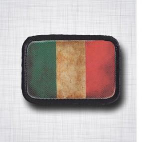 Drapeau Italien vieilli