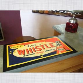 Tapis de comptoir Whistle Orange