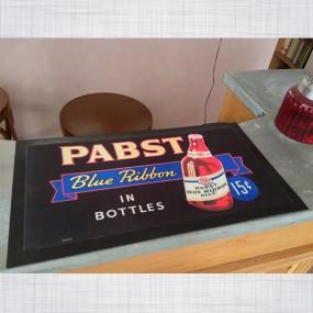 Tapis de comptoir Pabst Blue Ribbon Beer