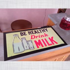 Tapis de comptoir Be Healthy Drink Milk