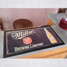 Tapis de comptoir Miller Beer