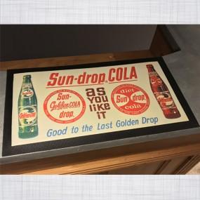 Tapis de comptoir Sun drop Cola