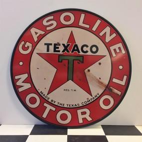 Plaque publicitaire Texaco Motor Oil