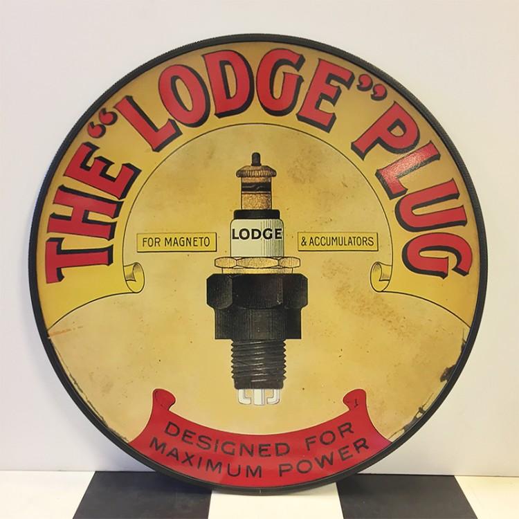 Plaque publicitaire The Lodge Plug