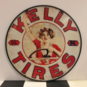 Plaque publicitaire Kelly Tires