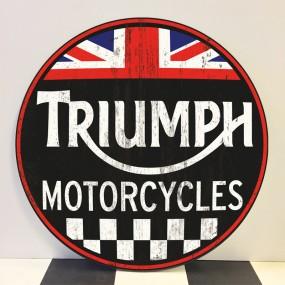 Plaque publicitaire Triumph Motorcycles