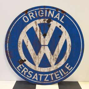 Plaque publicitaire Volkswagen Ersatzteile