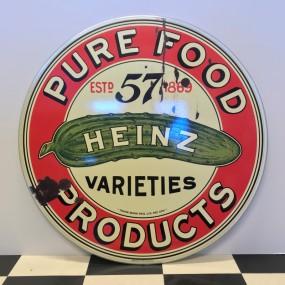 Plaque publicitaire Heinz Pure Food Products