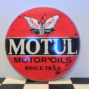 Plaque publicitaire Motul Motor Oils