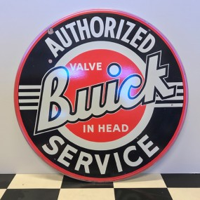 Plaque publicitaire Buick Service