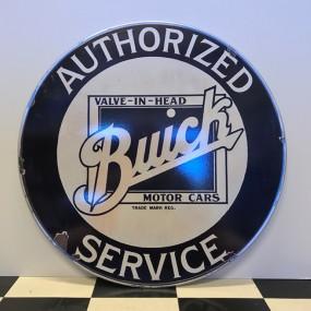 Plaque publicitaire Buick Service 1910
