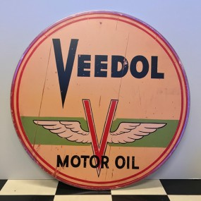 Plaque publicitaire Veedol Motor Oil