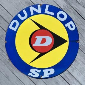 Plaque publicitaire Pneu Dunlop SP