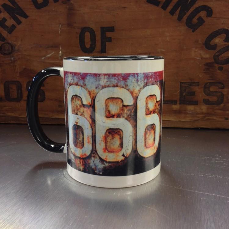 Mug céramique 666