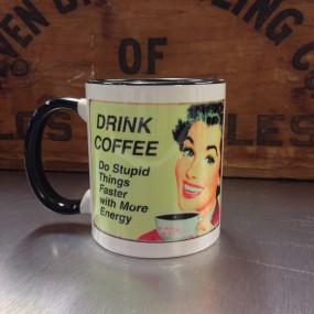 Mug céramique Drink Coffee