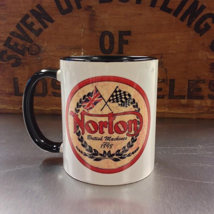 Mug céramique Norton British Machines