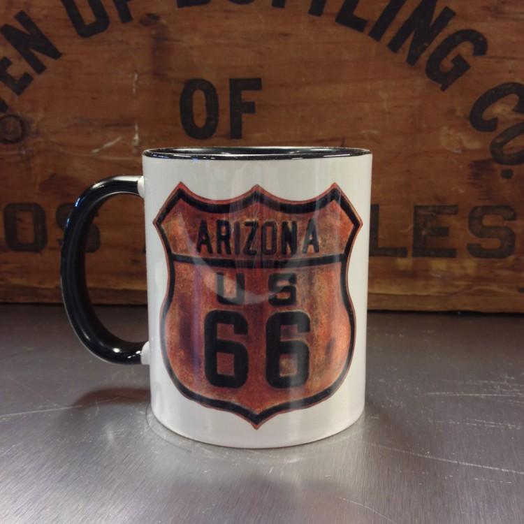 Mug céramique Route 66 Rouillé