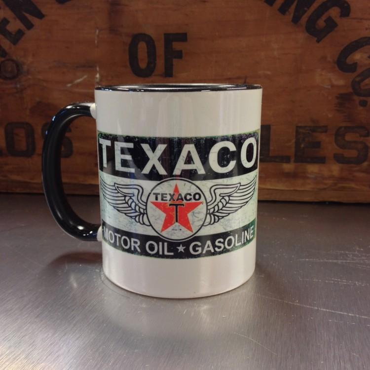 Mug céramique Texaco Motor Oil Gasoline
