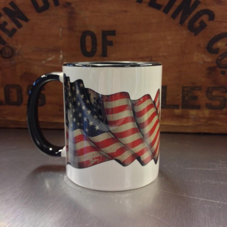 Mug céramique Drapeau USA
